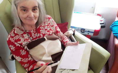 Book and Art Clubs are a success at Lulworth House Residential Care Home