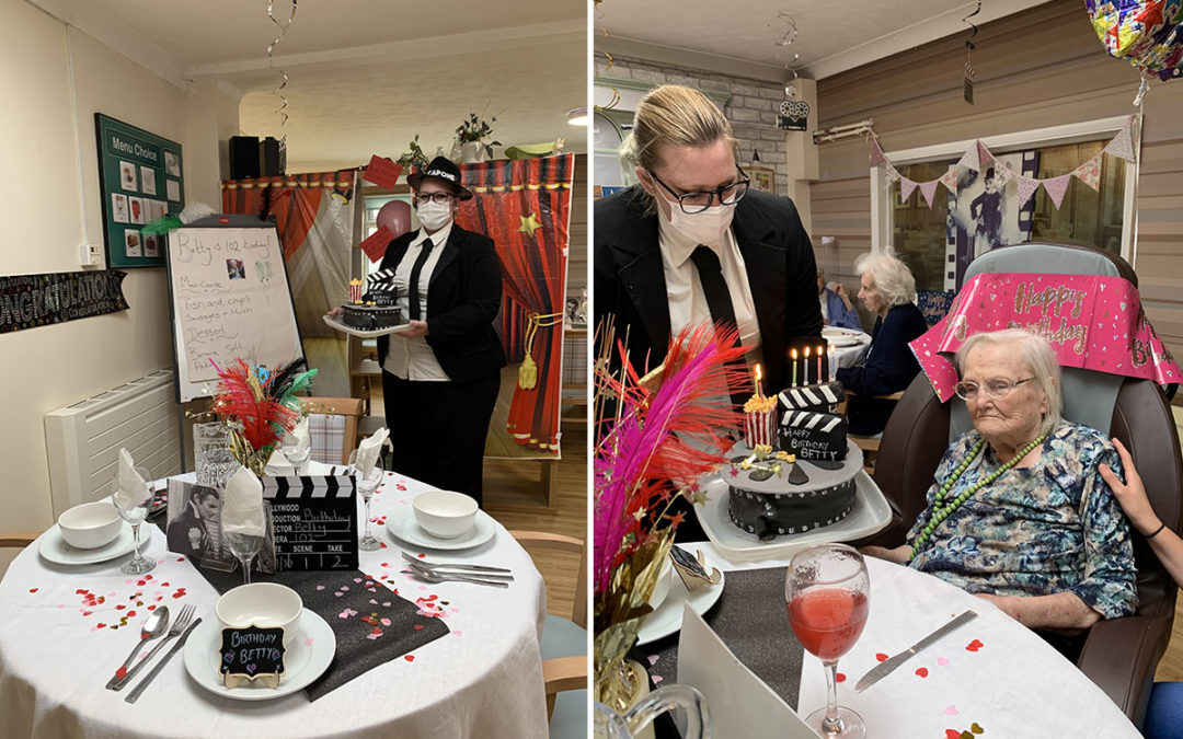 Betty turns 102 at Lulworth House Residential Care Home