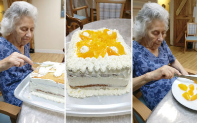 A cake filled week at Lulworth House Residential Care Home