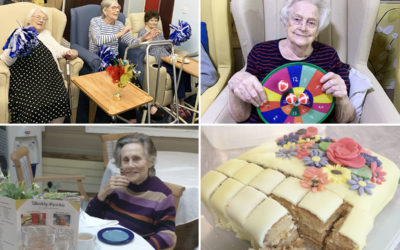 From pom poms to target games at Lulworth House Residential Care Home