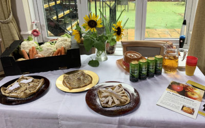 Harvest Festival celebration morning at Lulworth House Residential Care Home