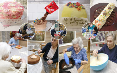 Lulworth House Residential Care Home creates wonderful Showstopper Cakes