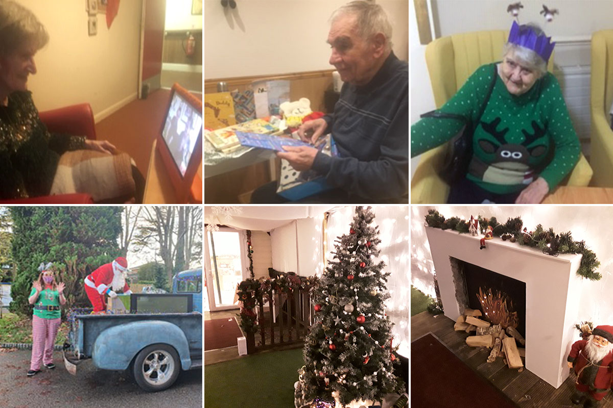 A merry Christmas at Lulworth House Residential Care Home