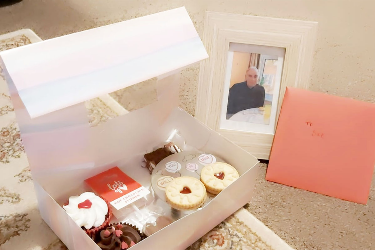 Valentines surprises from Lulworth House Residential Care Home