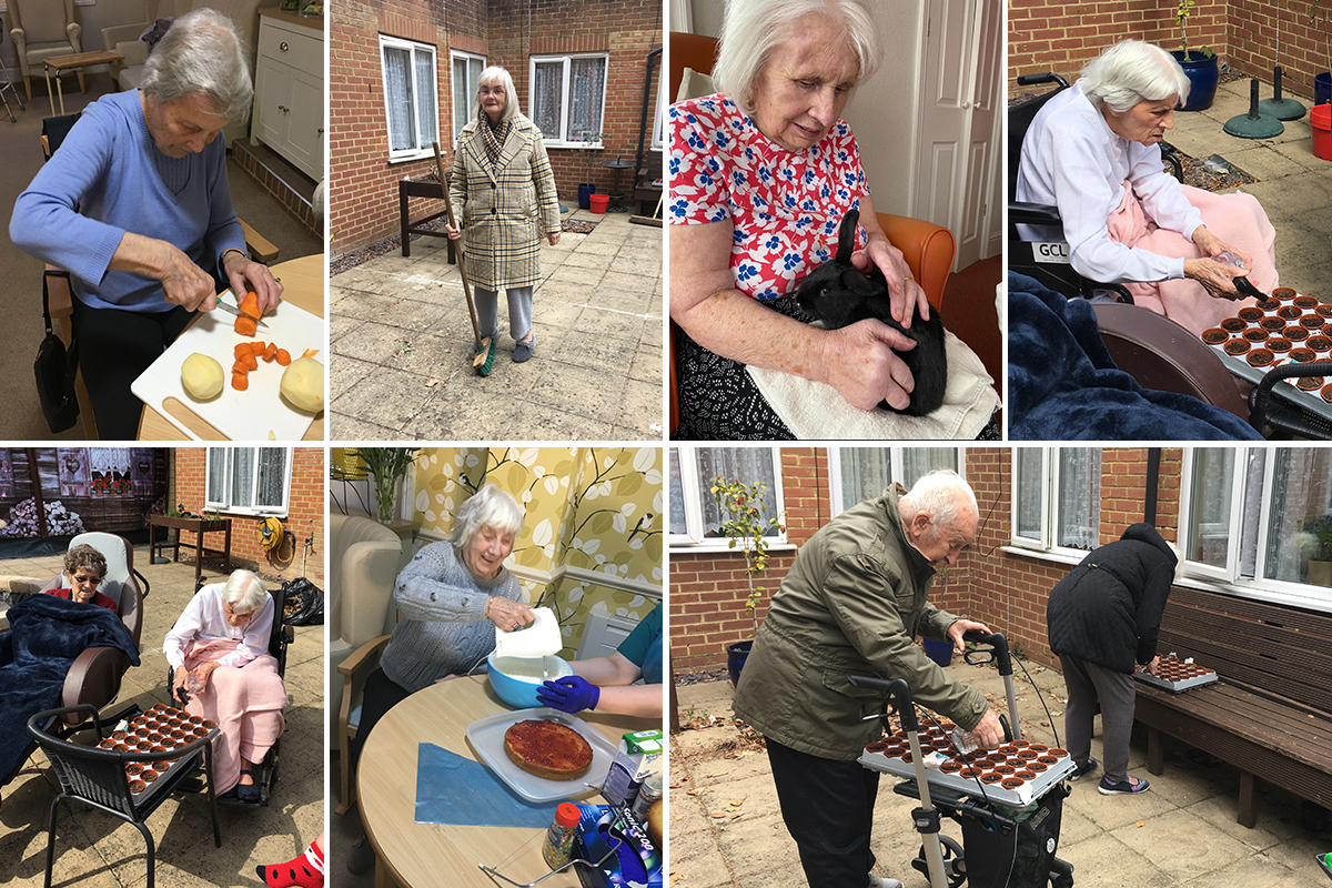 Helping hands at Lulworth House Residential Care Home