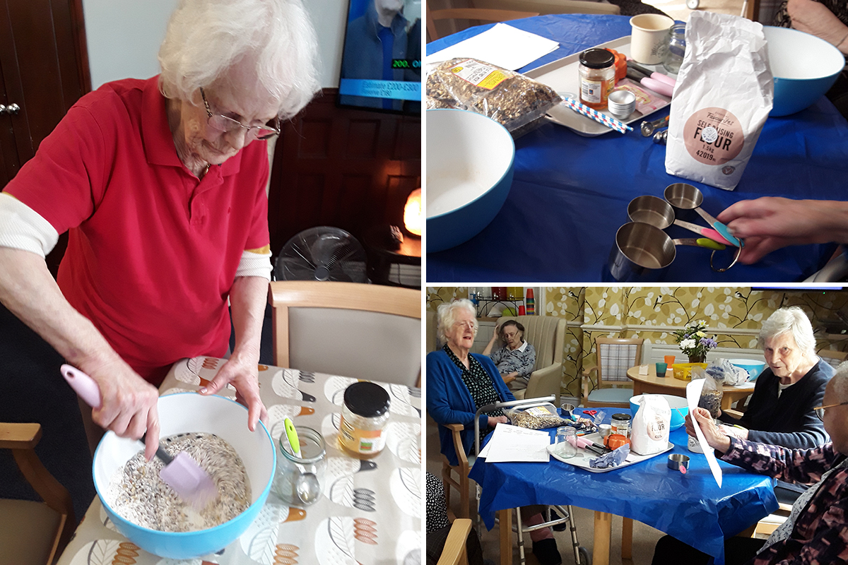 Lulworth House Residential Care Home residents celebrate migratory birds