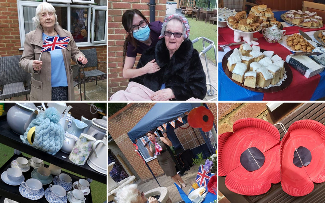 VE Day celebrations at Lulworth House Residential Care Home