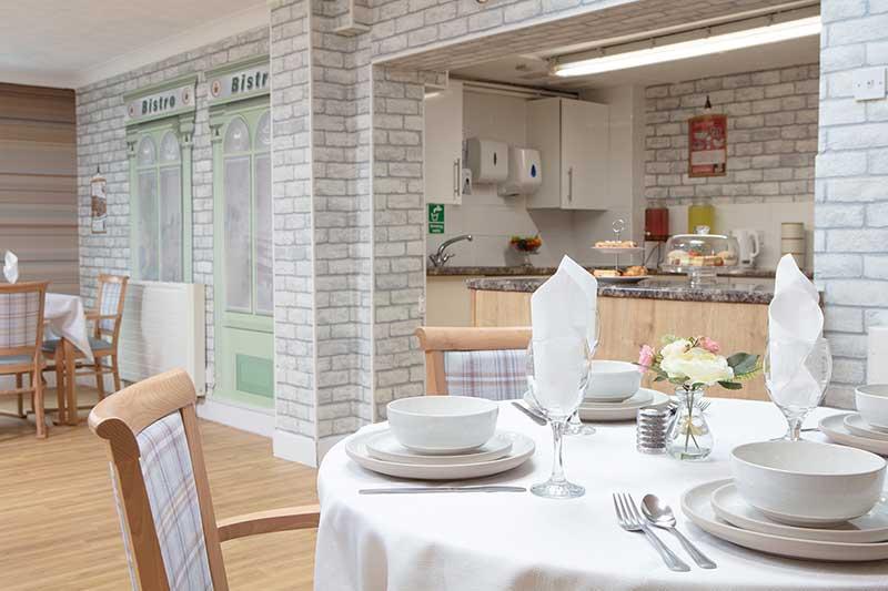 Lulworth House Dining Area