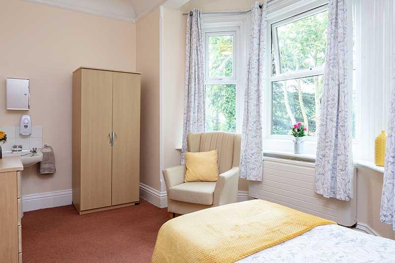 Lulworth House Yellow Bedroom