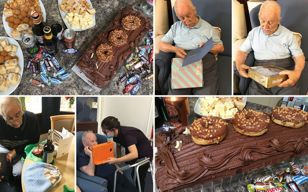 Lulworth House Residential Care Home celebrates Fathers Day