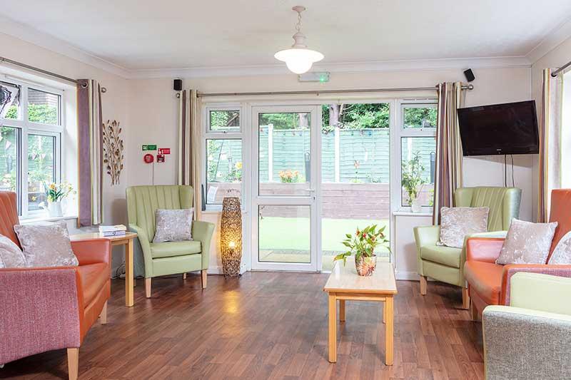 Lulworth House Lounge Area