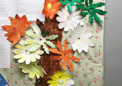 Relaxing arts, crafts and puzzles at Lulworth House Residential Care Home 12