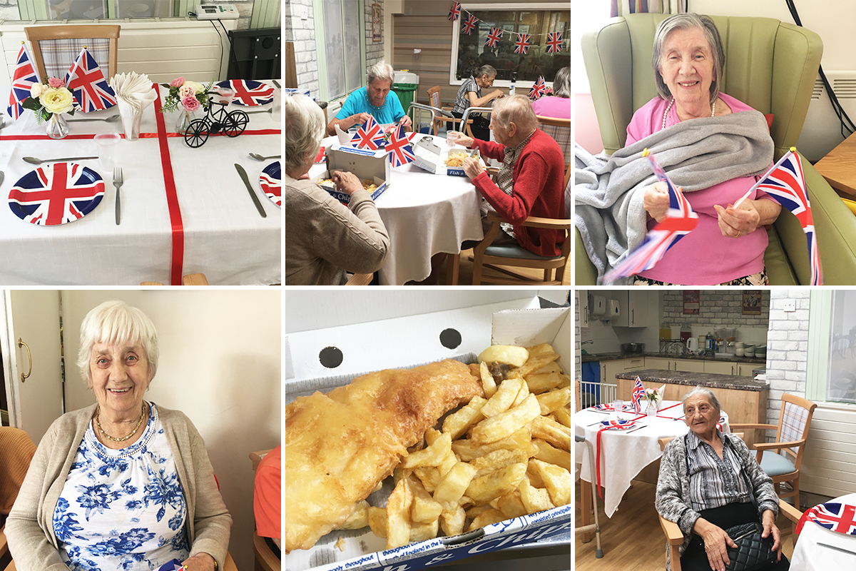 Virtual cruise returns to England at Lulworth House Residential Care Home