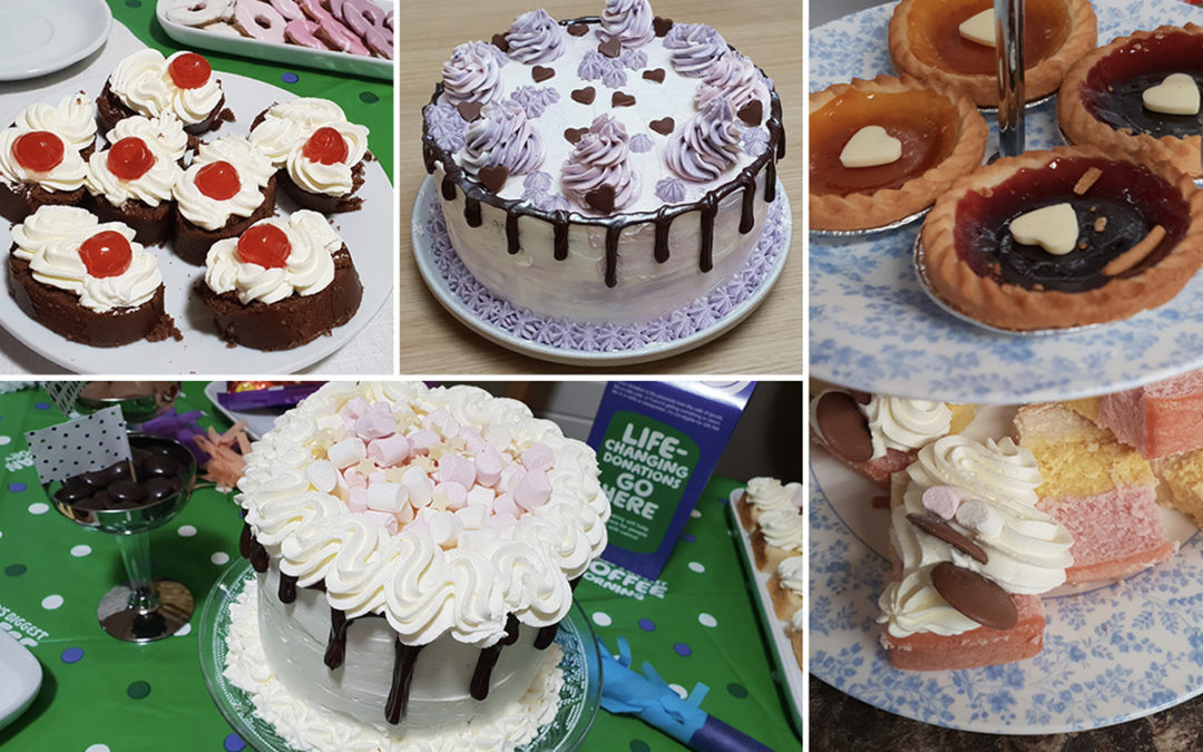 All about the cakes at Lulworth House Residential Care Home